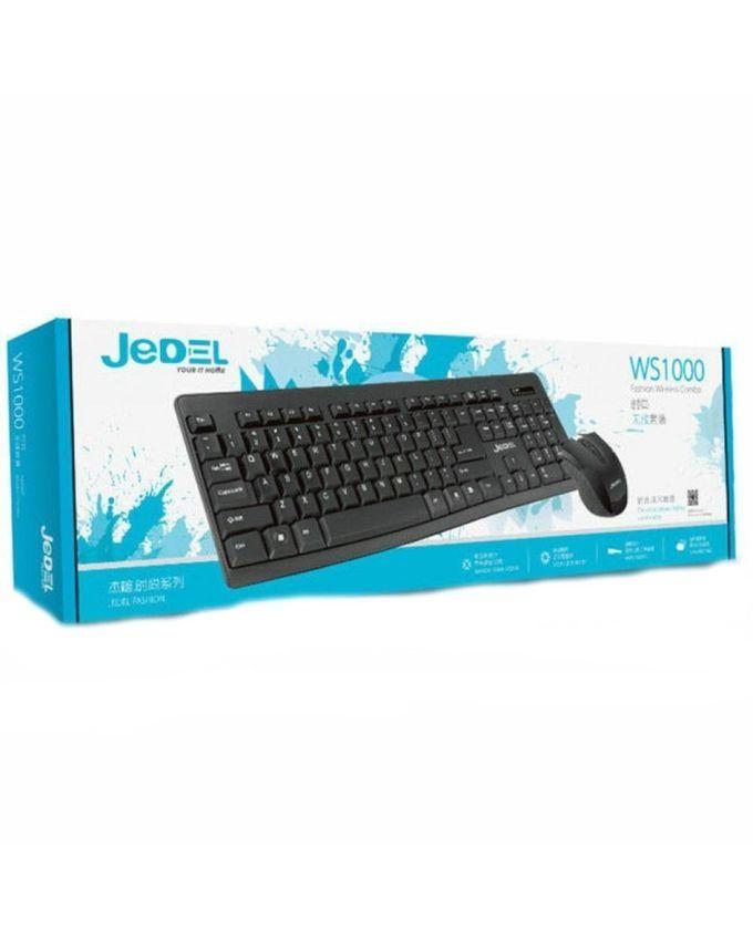 Buy Jedel Wireless Keyboard Mouse Combo In Pakistan Laptab